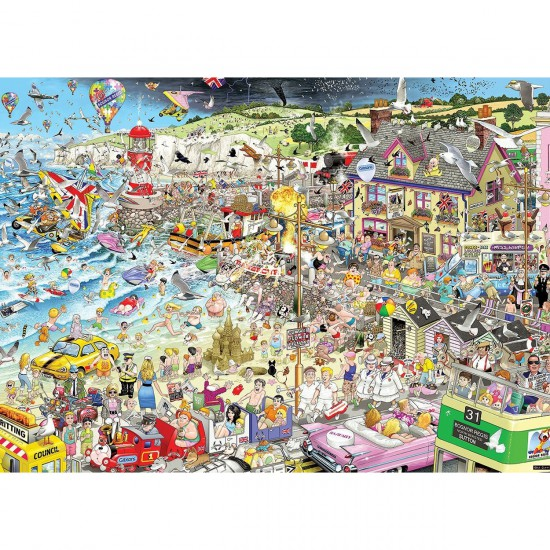 Puzzle 1000 pièces : I Love Summer - Gibsons-G7038