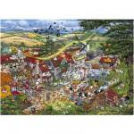 Puzzle 1000 pièces : J'aime la ferme