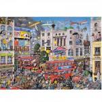 Puzzle 1000 pièces : J'aime Londres