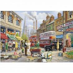 Puzzle 1000 pièces : Le marché