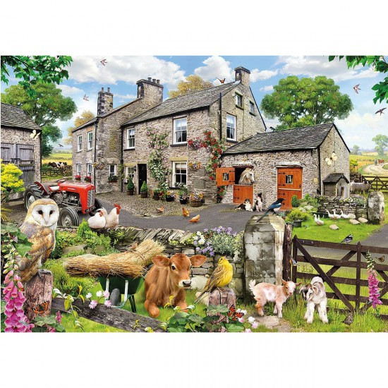 Puzzle 1000 pièces : Les amis de la ferme - Gibsons-G6144