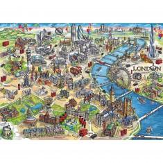 Puzzle 1000 pièces : London Landmarks