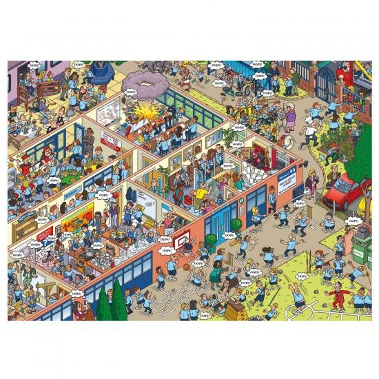 Puzzle 1000 pièces : Martin Berry : Oops! À l'école - Gibsons-G7075