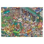 Puzzle 1000 pièces : Martin Berry : Oops! Concert des Mudstock