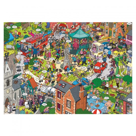 Puzzle 1000 pièces : Martin Berry : Oops! Dans la rue - Gibsons-G7060
