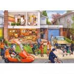 Puzzle 1000 pièces : Memory Lane : Our House 1970s