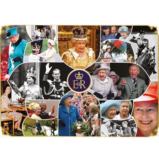 Puzzle 1000 pièces : Our Queen The Longest Reign - Gibsons-G7068