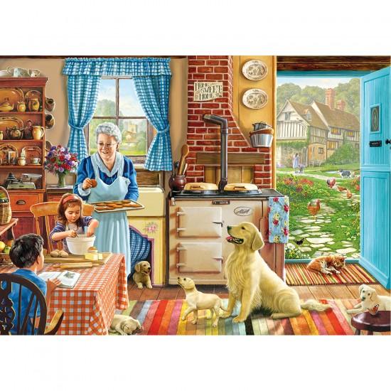 Puzzle 1000 pièces : Passer du bon temp à la maison - Gibsons-G6166