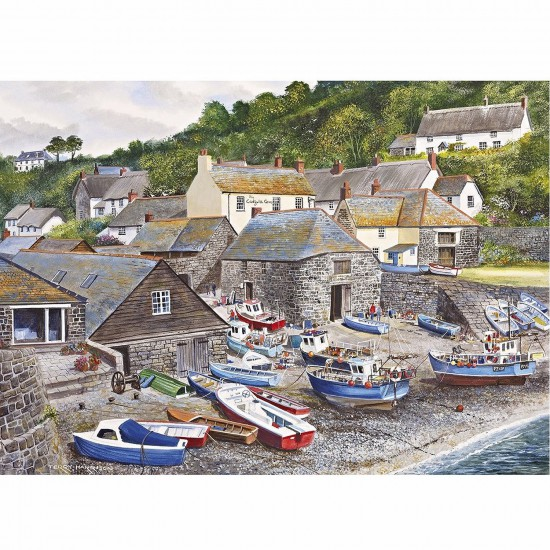 Puzzle 1000 pièces : Port de Cadgwith Cove - Gibsons-G6104