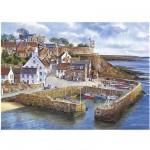 Puzzle 1000 pièces : Port de Crail