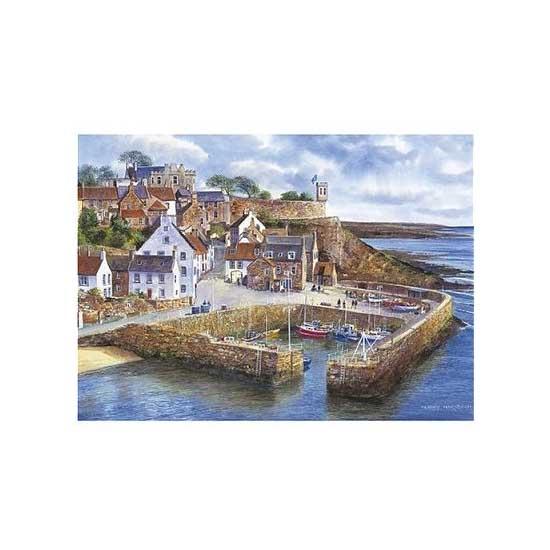 Puzzle 1000 pièces : Port de Crail - Gibsons-G0798