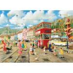 Puzzle 1000 pièces : Prendre le tram