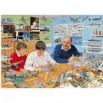 Puzzle 1000 pièces : Reconstitution d'une maquette