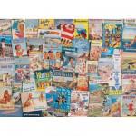 Puzzle 1000 pièces : Souvenirs de vacances