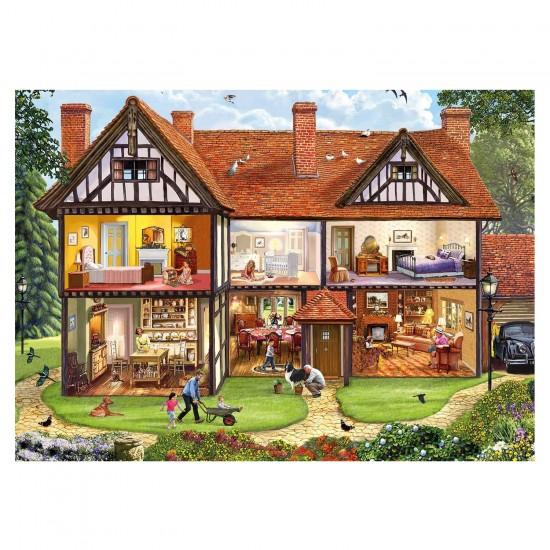 Puzzle 1000 pièces : Steve Crisp : Dans la maison - Gibsons-G6190