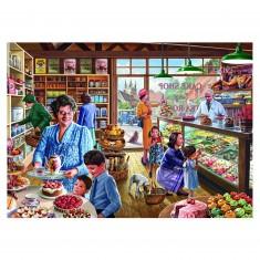 Puzzle 1000 pièces : Steve Crisp : La boulangerie
