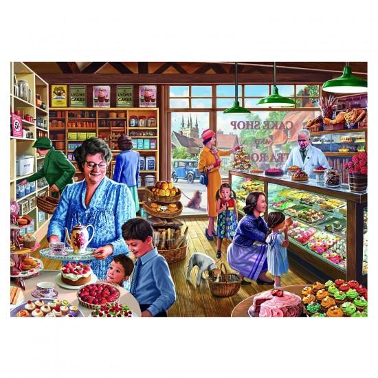 Puzzle 1000 pièces : Steve Crisp : La boulangerie - Gibsons-G6184