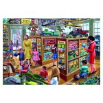 Puzzle 1000 pièces : Steve Crisp : Le magasin de jeux et jouets