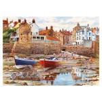 Puzzle 1000 pièces : Terry Harrison : Robin Hood's Bay