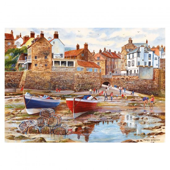 Puzzle 1000 pièces : Terry Harrison : Robin Hood's Bay - Gibsons-G6189