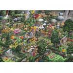 Puzzle 1000 pièces - j'aime jardiner