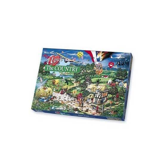 Puzzle 1000 pièces - J'aime la campagne - Gibsons-G0576