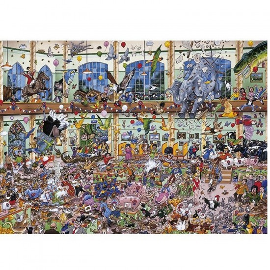 Puzzle 1000 pièces - J'aime les animaux - Gibsons-G0514