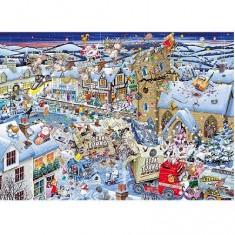 Puzzle 1000 pièces - J'aime Noël