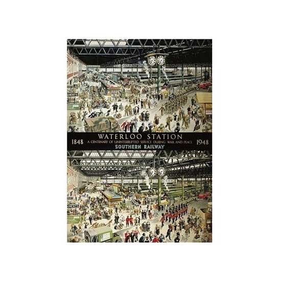 Puzzle 1000 pièces - La gare de Waterloo, Londres - Gibsons-G0604