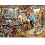Puzzle 1000 pièces - L'atelier de grand-père