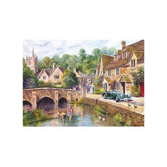 Puzzle 1000 pièces - Le village de Castle Combe - Gibsons-G6070