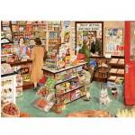 Puzzle 1000 pièces - L'épicerie du village