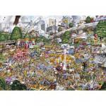 Puzzle 1000 pièces - Les embouteillages