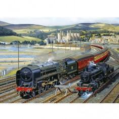 Puzzle 1000 pièces - Passage à Snowdonia
