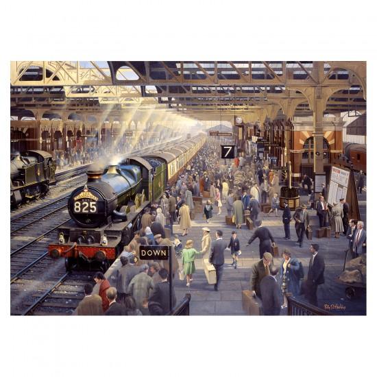 Puzzle 1000 pièces Philip D Hawkins : La Gare de Snow Hill - Gibsons-G6151