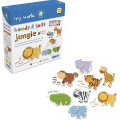 Puzzle 18 pièces - Encastrements : La jungle