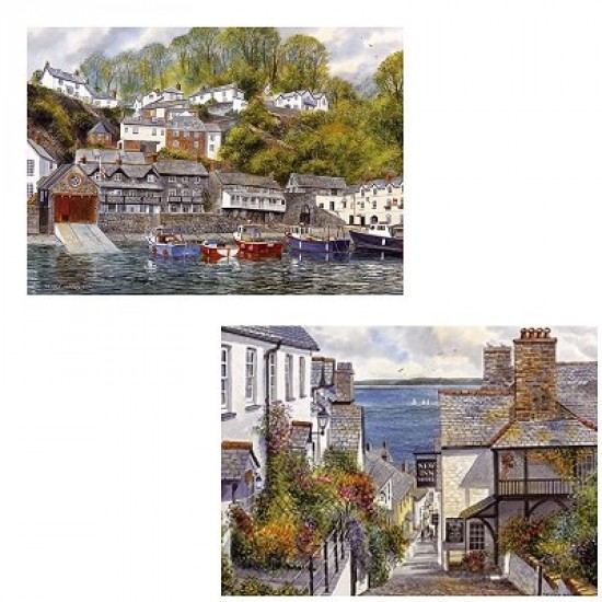 Puzzle 2 x 1000 pièces : Paysages pittoresques - Gibsons-G5004