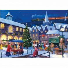 Puzzle 2 x 500 pièces : En attendant Noël