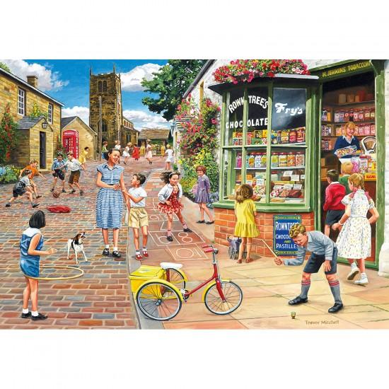 Puzzle 2000 pièces : Hopscotch Hill - Gibsons-G8011
