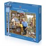 Puzzle 210 pièces : Mini puzzle : Dans l'atelier de Papy