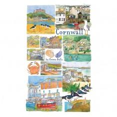 Puzzle 250 pièces : Emma Ball : Cornouailles