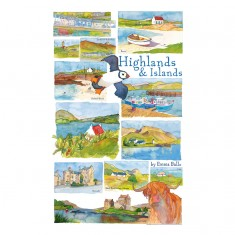 Puzzle 250 pièces : Emma Ball : Highlands & Islands