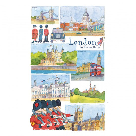 Puzzle 250 pièces : Emma Ball : Londres - Gibsons-G2516