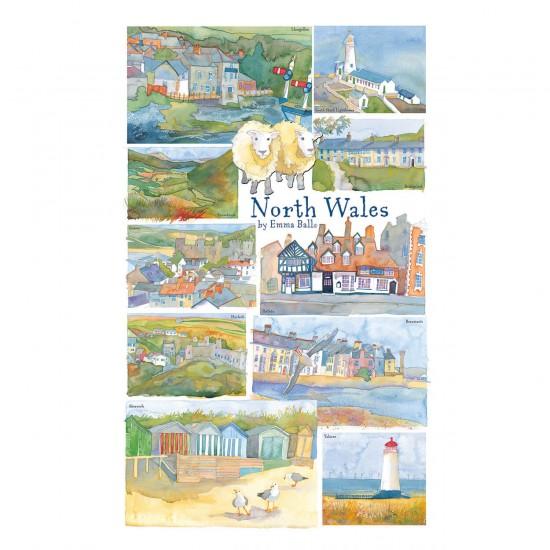 Puzzle 250 pièces : Emma Ball : Pays de Galles du Nord - Gibsons-G2518