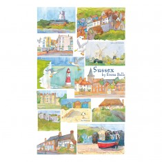Puzzle 250 pièces : Emma Ball : Sussex
