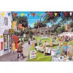 Puzzle 250 pièces XL : La fête au village