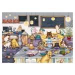 Puzzle 250 pièces XL : Linda Jane Smith : Les chiens au café