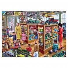 Puzzle 250 pièces XL : Steve Crisp : Le magasin de jeux et jouets