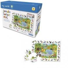 Puzzle 30 pièces - Jungle : Safari des lettres