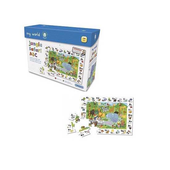 Puzzle 30 pièces - Jungle : Safari des lettres - Gibsons-G1007